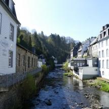 Die Rur in Monschau, Eifel