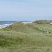 Strand und Dünen in Klegod