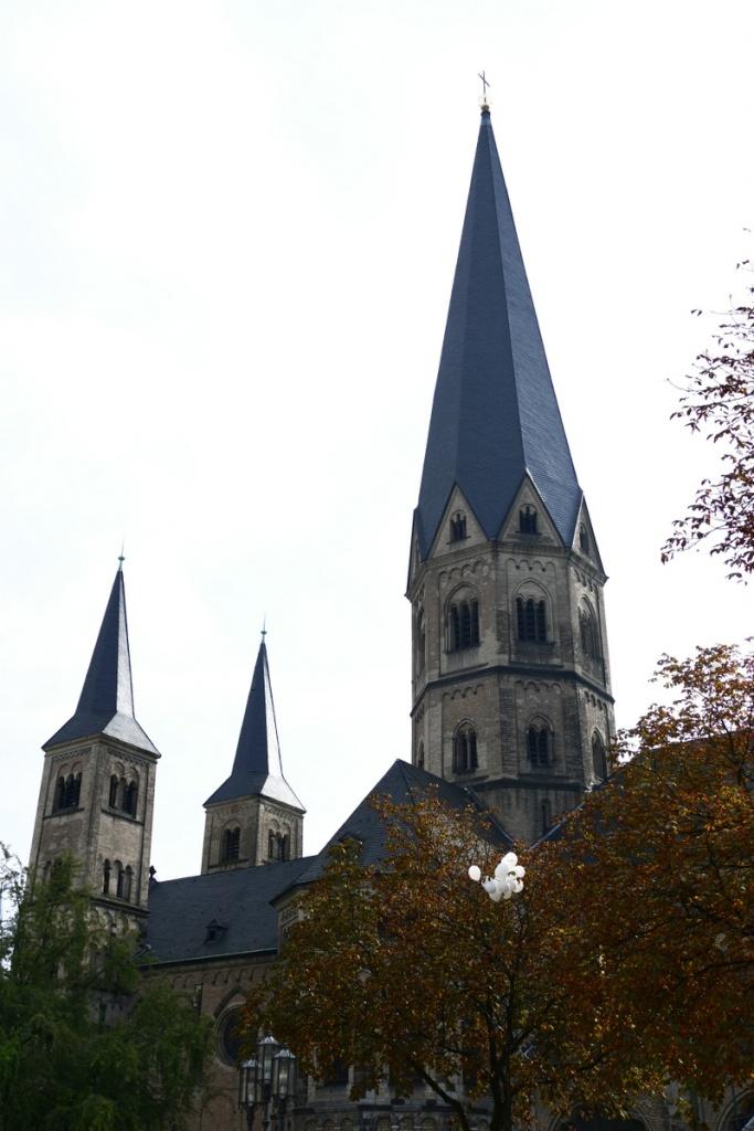 Bonner Münster, letzter Tag vor der Schließung