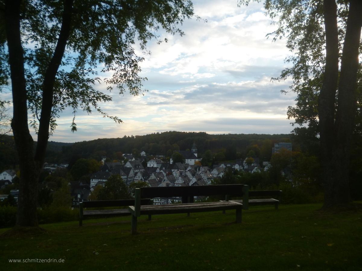 Blick auf die Freudenberger Altstadt, Sauerland